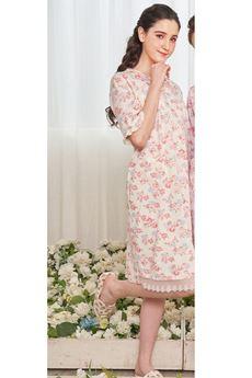 圖片 碎花印花睡袍