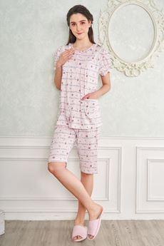 圖片 小熊印花睡衣