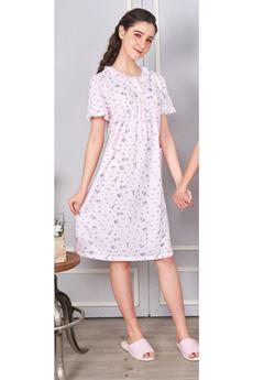 圖片 巴黎印花睡袍